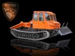 фото Трелевочный трактор МСН-10-003 с трехместной кабиной